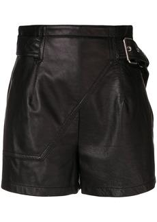 3.1 Phillip Lim Utility biker shorts - Black