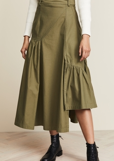 3.1 Phillip Lim Utlity Layered Maxi Skirt