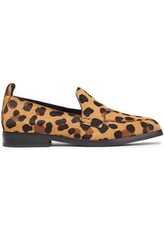 3.1 Phillip Lim Woman Alexa Leopard-print Calf Hair Loafers Animal Print