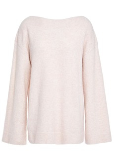 3.1 Phillip Lim Woman Mélange Brushed Knitted Sweater Pink