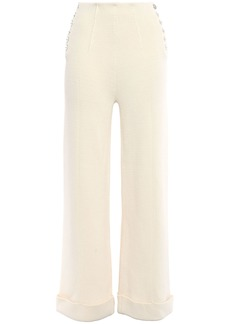3.1 Phillip Lim Woman Cotton Wide-leg Pants Ecru