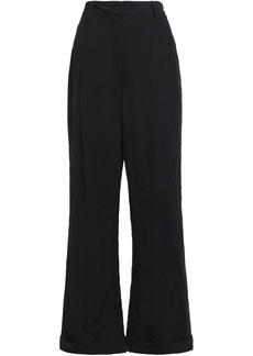 3.1 Phillip Lim Woman Crepe Wide-leg Pants Black