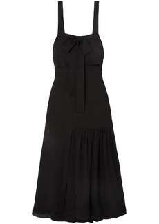 3.1 Phillip Lim Woman Cutout Silk Maxi Dress Black