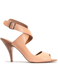 3.1 Phillip Lim Woman Dahlia Leather Sandals Sand