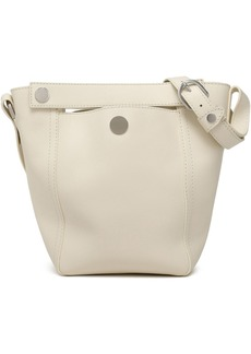 3.1 Phillip Lim Woman Dolly Textured-leather Tote Off-white