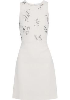 3.1 Phillip Lim Woman Embellished Crepe Mini Dress Ivory