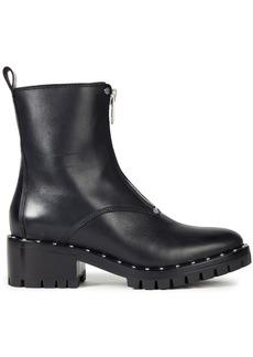 3.1 Phillip Lim Woman Hayett Studded Leather Combat Boots Black