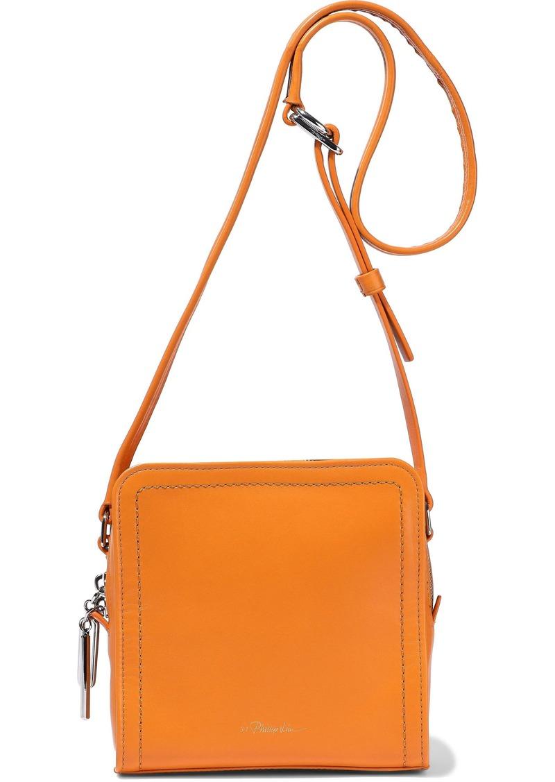 3.1 Phillip Lim Woman Hudson Square Mini Leather Shoulder Bag Saffron