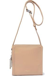 3.1 Phillip Lim Woman Hudson Square Mini Leather Shoulder Bag Sand