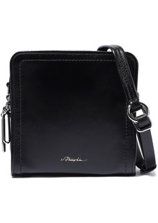 3.1 Phillip Lim Woman Hudson Leather Shoulder Bag Black