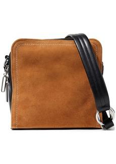 3.1 Phillip Lim Woman Hudson Square Suede And Leather Shoulder Bag Tan