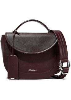 3.1 Phillip Lim Woman Hudson Leather Shoulder Bag Burgundy