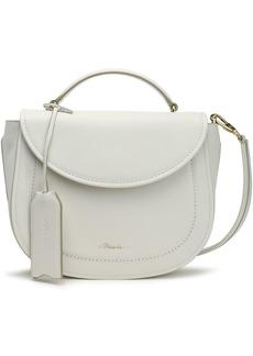 3.1 Phillip Lim Woman Hudson Textured-leather Shoulder Bag White