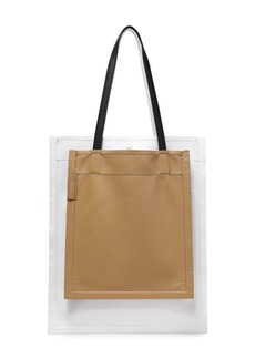 3.1 Phillip Lim Woman Leather Tote White
