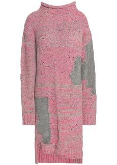 3.1 Phillip Lim Woman Metallic Wool-blend Dress Pink