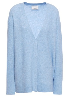 3.1 Phillip Lim Woman Mélange Knitted Cardigan Light Blue