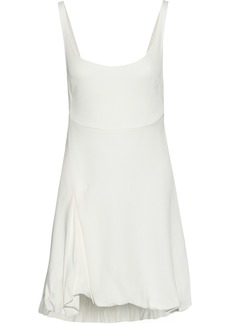 3.1 Phillip Lim Woman Open-back Gathered Crepe Mini Dress White