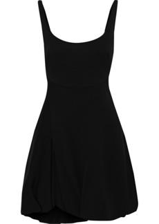 3.1 Phillip Lim Woman Open-back Gathered Crepe Mini Dress Black
