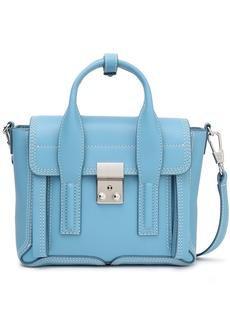 3.1 Phillip Lim Woman Pashli Mini Leather Shoulder Bag Light Blue