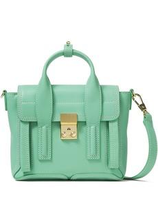 3.1 Phillip Lim Woman Pashli Mini Leather Shoulder Bag Mint