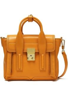3.1 Phillip Lim Woman Pashli Mini Leather Shoulder Bag Saffron