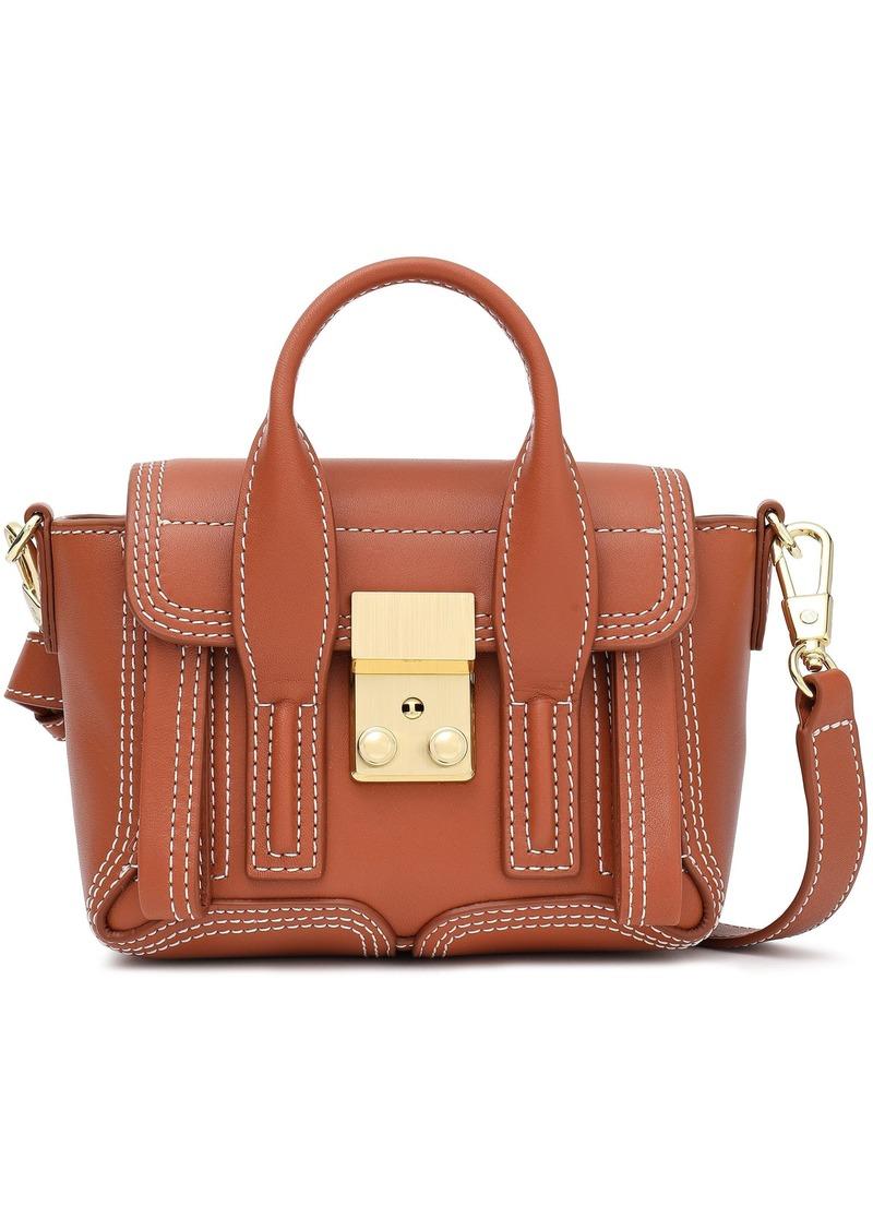 3.1 Phillip Lim Woman Pashli Nano Leather Shoulder Bag Light Brown