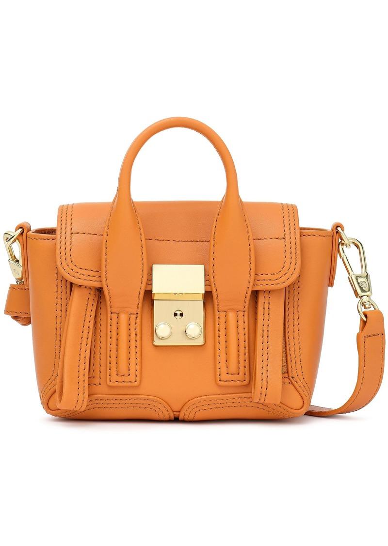 3.1 Phillip Lim Woman Pashli Nano Leather Shoulder Bag Orange
