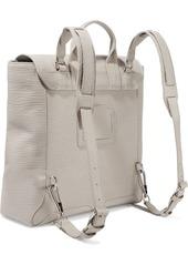 3.1 Phillip Lim Woman Pashli Textured-leather Backpack Ecru