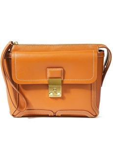 3.1 Phillip Lim Woman Pashli Textured-leather Clutch Tan