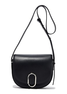 3.1 Phillip Lim Woman Alix Saddle Leather Shoulder Bag Black
