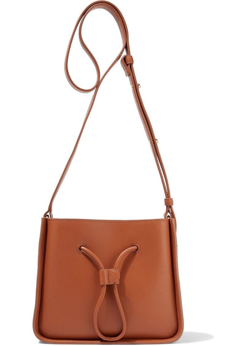 3.1 Phillip Lim Woman Soleil Mini Leather Bucket Bag Tan