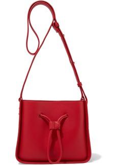 3.1 Phillip Lim Woman Soleil Mini Leather Bucket Bag Red
