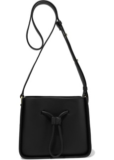 3.1 Phillip Lim Woman Soleil Mini Leather Bucket Bag Black