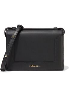 3.1 Phillip Lim Woman Soleil Mini Leather Shoulder Bag Black