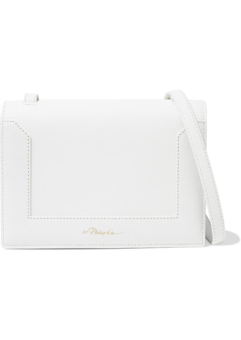 3.1 Phillip Lim Woman Soleil Mini Leather Shoulder Bag White