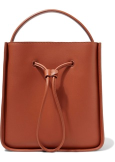 3.1 Phillip Lim Woman Soleil Small Leather Bucket Bag Tan