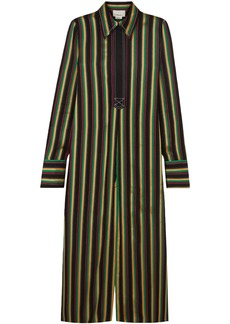 3.1 Phillip Lim Woman Striped Satin Tunic Multicolor