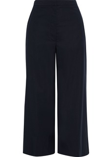 3.1 Phillip Lim Woman Wool-blend Culottes Midnight Blue