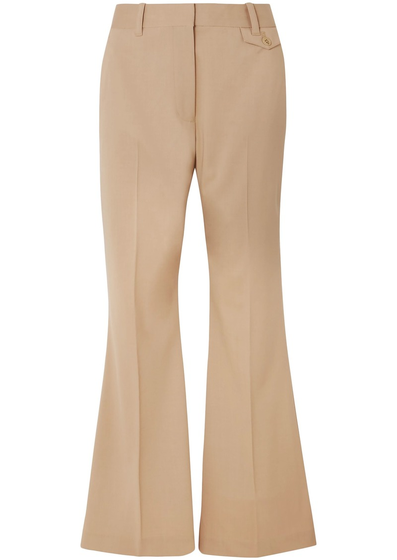 3.1 Phillip Lim Woman Wool-blend Flared Pants Sand