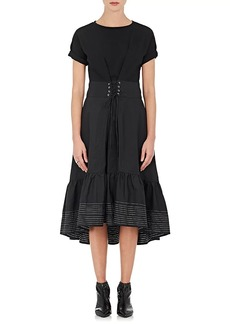 3.1 Phillip Lim Women's Cinched-Waist Cotton Dress