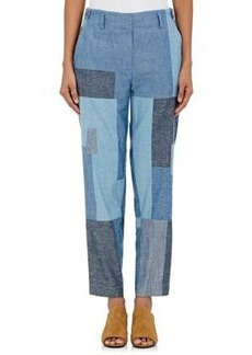 3.1 Phillip Lim Women's Cotton Patchwork Pants
