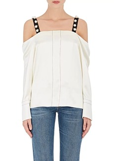 3.1 Phillip Lim Women's Embellished Silk Top