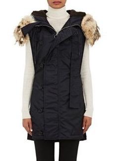 3.1 Phillip Lim Women's Flight Tech-Fabric Long Vest