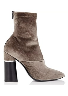 3.1 Phillip Lim Women's Kyoto Velvet Ankle Boots