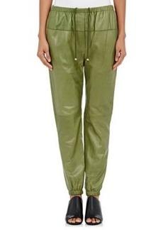 3.1 Phillip Lim Women's Leather Jogger Pants