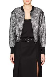 3.1 Phillip Lim Women's Metallic Cloqué Bomber Jacket