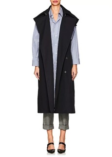 3.1 Phillip Lim Women's Oversized Twill Double-Breasted Trench Vest