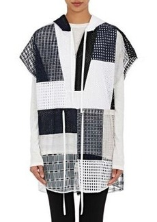 3.1 Phillip Lim Women's Patchwork Hooded Poncho