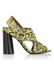 3.1 Phillip Lim Women's Patsy Leather Slingback Sandals