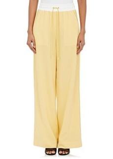 3.1 Phillip Lim Women's Wool Drawstring-Waist Wide-Leg Pants